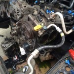 Heads and old gaskets removed!